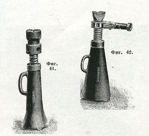 Домкрат начала XX века
