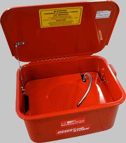 Стенд для очистки деталей электрический (15 л). СОРОКИНСТРУМЕНТ®