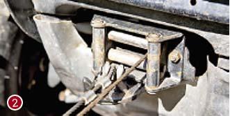 Роликовый клюз (протяжка) на лебедке для ATV