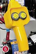 Проводной пульт управления лебедкой