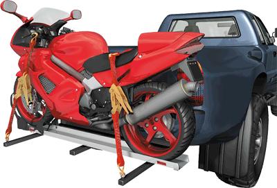 Площадка с крепежом на фаркоп для транспортировки мотоциклов