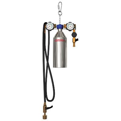 Установка для промывки инжектора с одним резервуаром 600мл