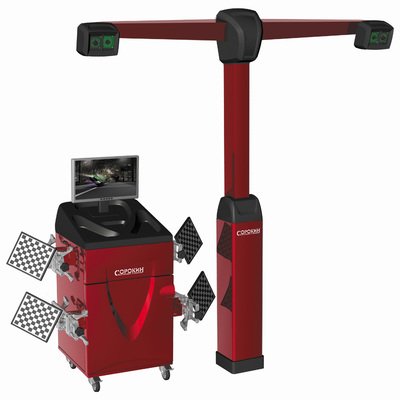Стенд для сход-развала с технологией 3D, 4 видеокамеры/мишени  СОРОКИН
