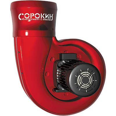 Вентилятор электрический 1,1кВт, 380В СОРОКИН