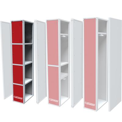 Металлический шкаф одёжный четырехсекционный  СОРОКИН