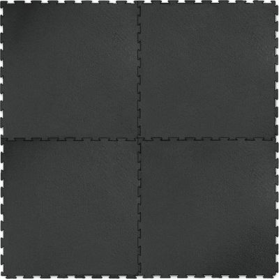 Напольное покрытие Шагрень, чёрное, 1м2