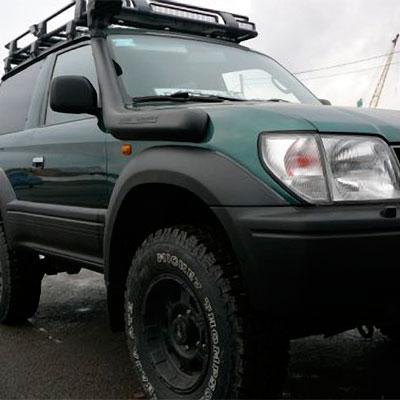 Шноркель для Toyota 90 Series Land Cruiser Prado, 5VZ-FE 3,4L-V6 бензин