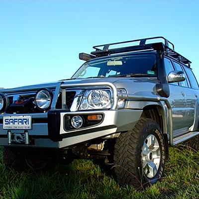 Шноркель для Nissan Patrol Wagon TB45 4,5KL-I6 бензин, TD42 4,2L-I6 дизель, RD28-TE 2,8L-I6 дизель