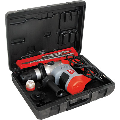 Перфоратор электрический 2-режима 1,1кВт, 32мм, 800об/мин, 220В/50Гц