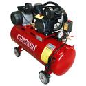 Компрессор поршневой 10атм, 2,2кВт, 220В, 420л/мин, горизонтальный ресивер 100л