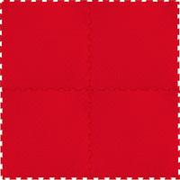 Напольное покрытие Монетка, красное, 1м2
