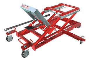 Универсальный подкатной мотоподъемник грузоподъемностью 700 кг. СОРОКИНСТРУМЕНТ®