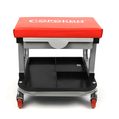 Сиденье ремонтное прямоугольное с ящиком