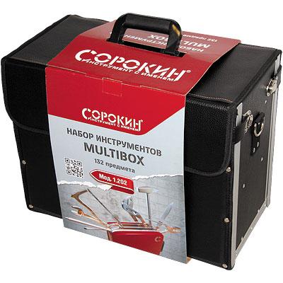 Набор инструмента в кофре Multibox 132 предмета