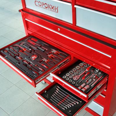 Инструмент в ложементе Great дюймовый 108 предметов