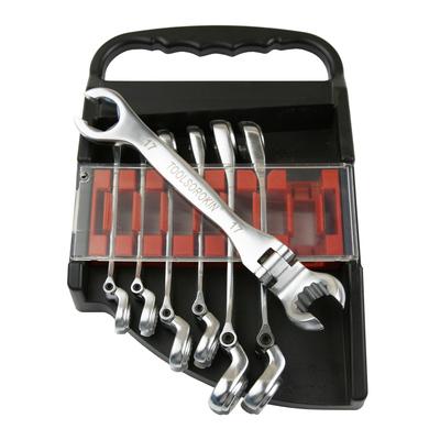 Набор ключей накидных 8-17мм с изгибаемой головкой 7 предметов
