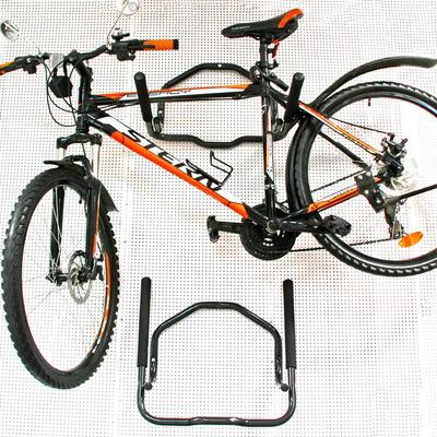 Велокронштейн настенный для двух велосипедов