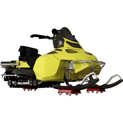 Тележки транспортировочные для снегохода 0,6т