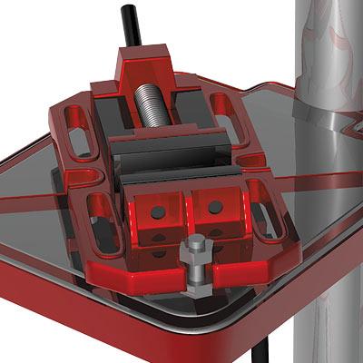 Станок вертикально-сверлильный настольный 5 скоростей, 13мм, 350Вт