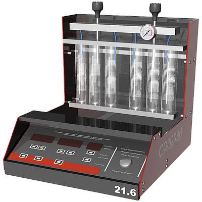 Стенд для тестирования и очистки 6-ти форсунок со встроенной УЗВ