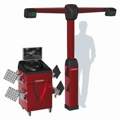 Стенд для сход-развала с технологией 3D, 4 видеокамеры/мишени
