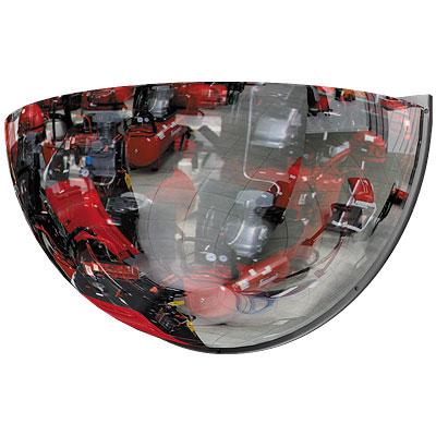 Зеркало купольное, 1/4 сферы 600мм