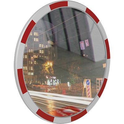 Зеркало дорожное со светоотражателями 800мм
