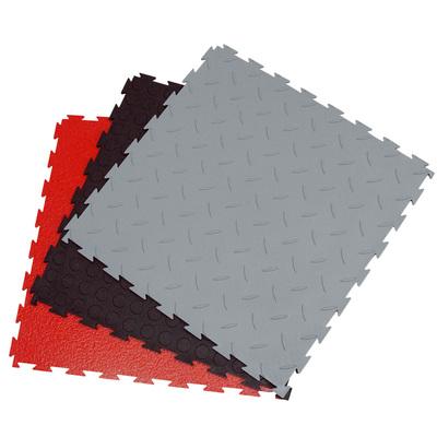 Напольное покрытие Шагрень, красное, 1м2