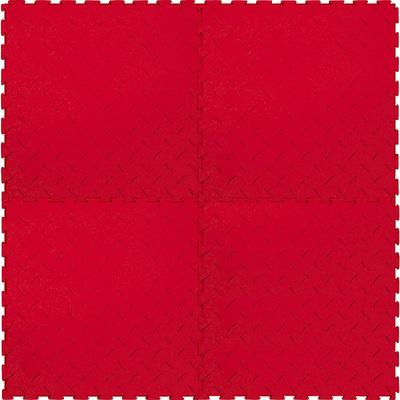 Напольное покрытие Риски, красное, 1м2