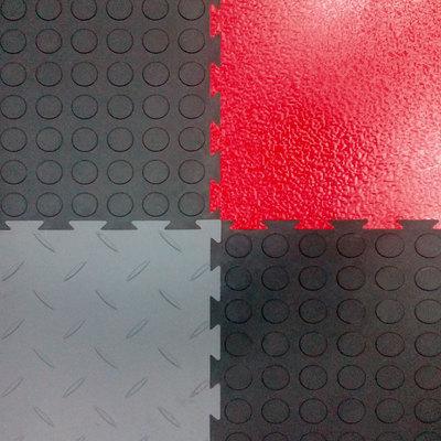 Напольное покрытие Монетка, чёрное, 1м2