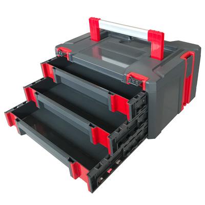 Ящик для инструмента с выдвижными лотками