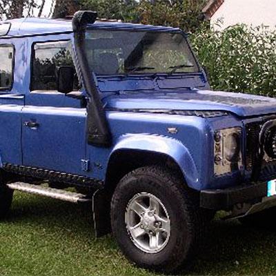 Шноркель для Land Rover Defender TD5 турбонадув 2,5L дизель