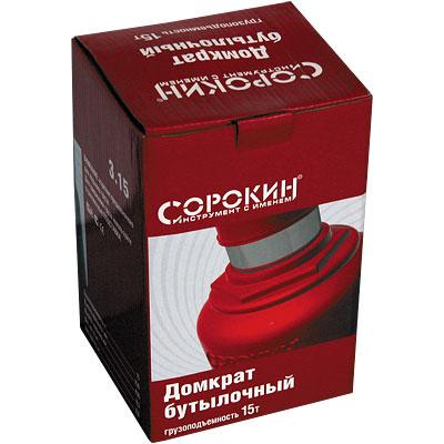 Домкрат бутылочный 15т