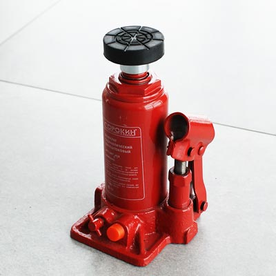 Накладка резино-металлическая на домкрат BottleLine 3т