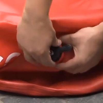 Адаптер компрессора для надувного домкрата