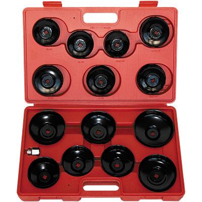 Чашки для съёма масляных фильтров 65-100мм 15 предм.