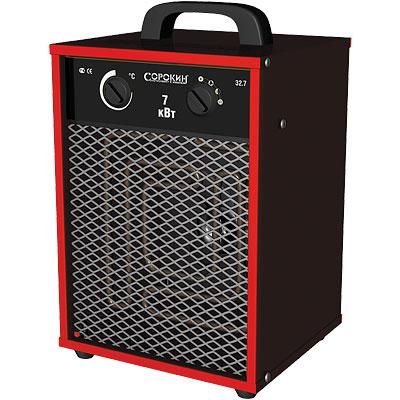 Нагреватель воздуха электрический 380В, 7,0 кВт, 400м3/ч