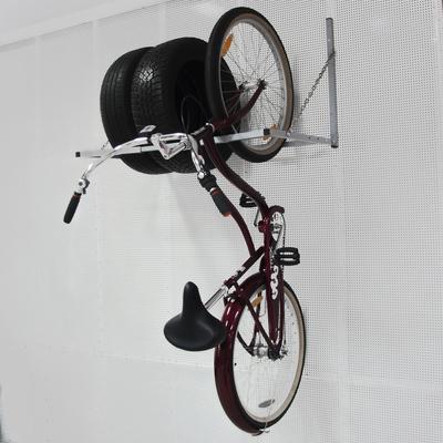 Полка для хранения колес, откидная