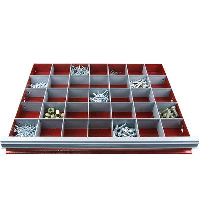 Разделители в ящик тележки шкафа