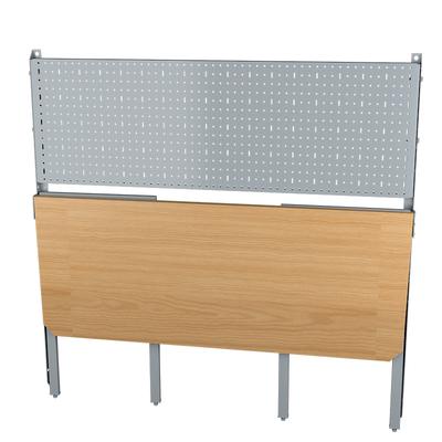 Верстак откидной деревянный Standart, перфорация 0,5м