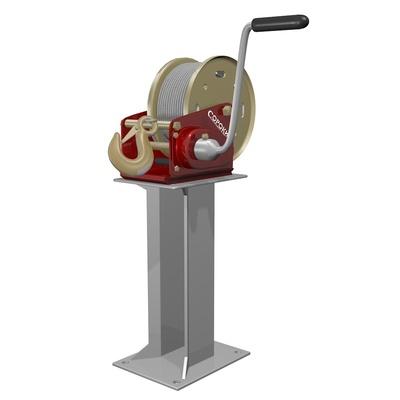 Консоль вертикальная для барабанных лебёдок
