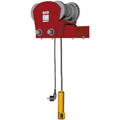 Электрокаретка для электротельфера 1т