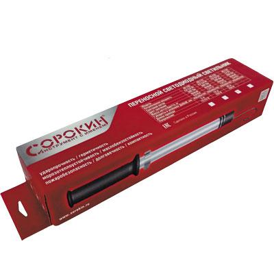 Светильник переносной аккумуляторный 1х2В