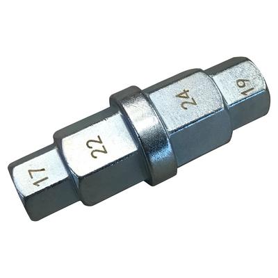 Головка шестигранная 3/8\, 17, 19, 22, 24мм