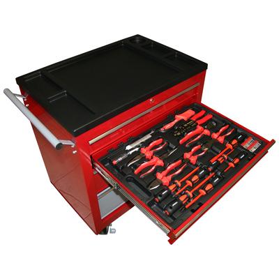 Тележка с инструментом, 136 предметов.