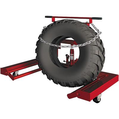 Тележка для перевозки и монтажа колес 0,6т