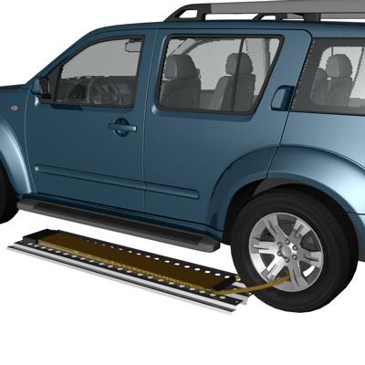 Сэнд-трак алюминиевый с антипробуксовочной лентой 1500х400мм, 1,5т