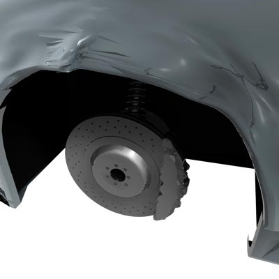 Универсальный выпрямитель колёсных арок